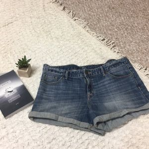 Mossimo Blue Denim Shorts